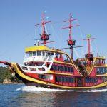 【佐世保】夏休み限定「海賊遊覧船みらい」の冒険クルージング体験レポート。海きらら水族館とセット利用がお得。